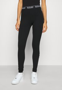 Hollister Co. - GRAPHIC - Legíny - black - 0