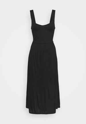 MIDIKLEID - Maxi dress - schwarz