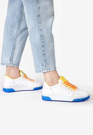 Trainers - yellow-neon pink ynp