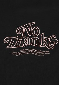 Dr.Denim Plus - MELROSE PLUS TEE - Print T-shirt - black reducing - 5