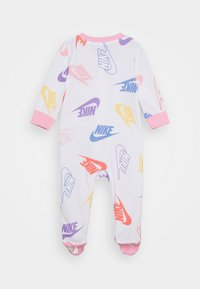 Nike Sportswear - FOOTED COVERALL - Pyjamas - white - 1