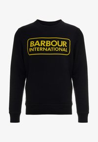 Barbour International - LARGE LOGO - Sweatshirt - black - 3