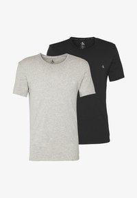 CK ONE CREW NECK 2 PACK - Undershirt - black