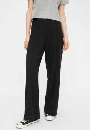 Pants - dark grey melange