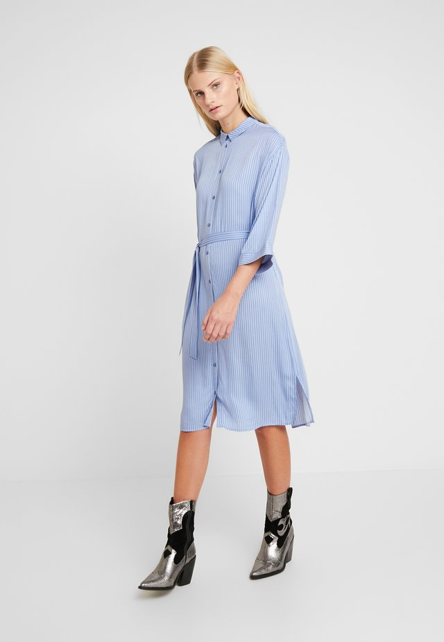 BEA PRINT DRESS - Skjortekjole - twill stripe