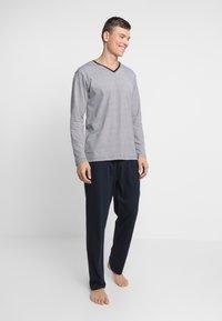 TOM TAILOR - PYJAMA - Pyjamas - blue - 1