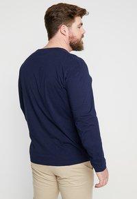 GANT - THE ORIGINAL - Långärmad tröja - evening blue - 2
