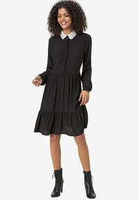 HALLHUBER - Shirt dress - black - 1