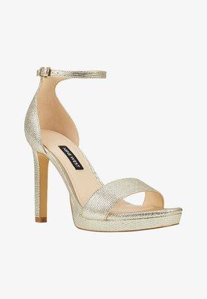 EDYN - Platform heels - gold multi ll