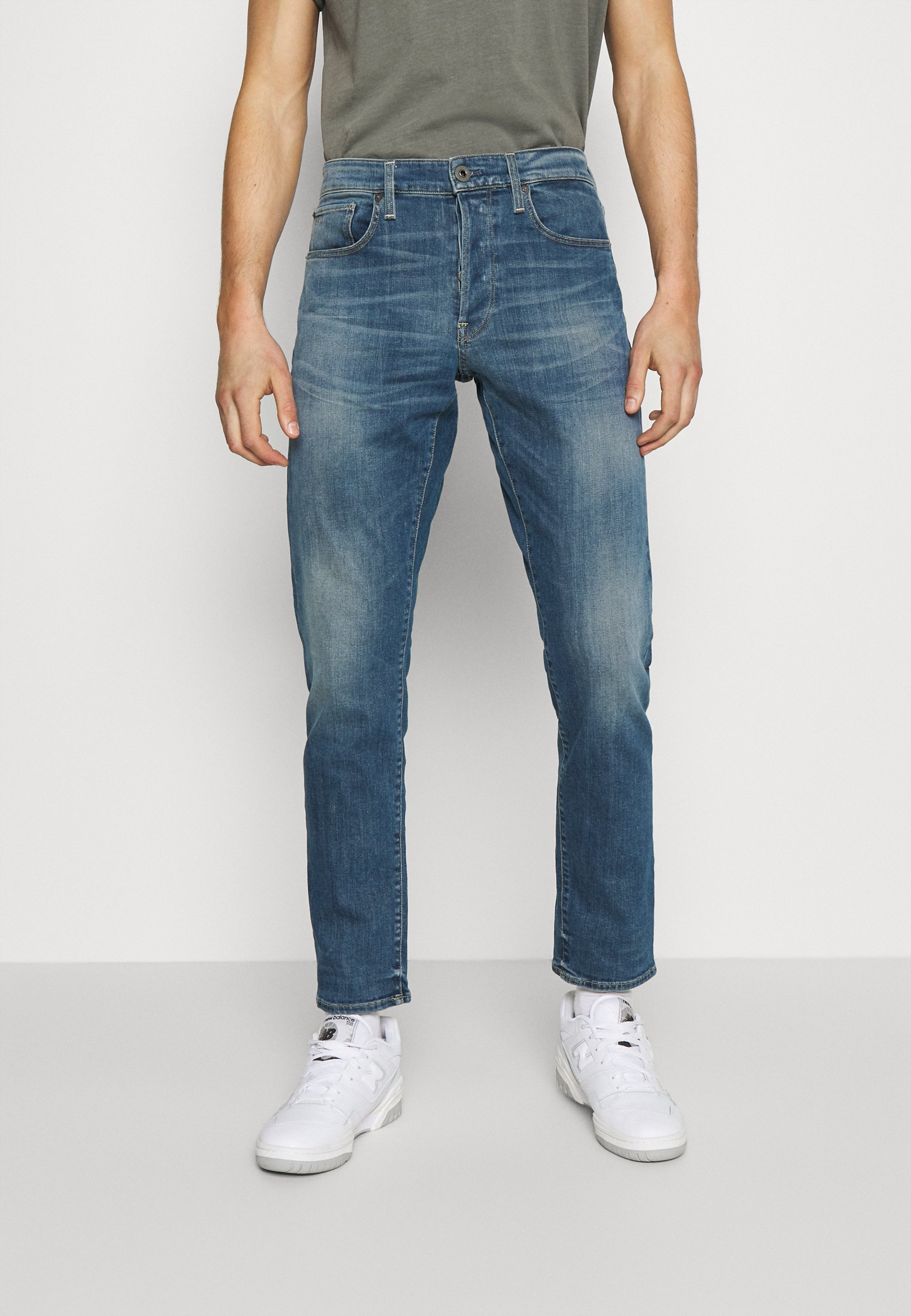 Uomo 3301 STRAIGHT TAPERED - Jeans a sigaretta