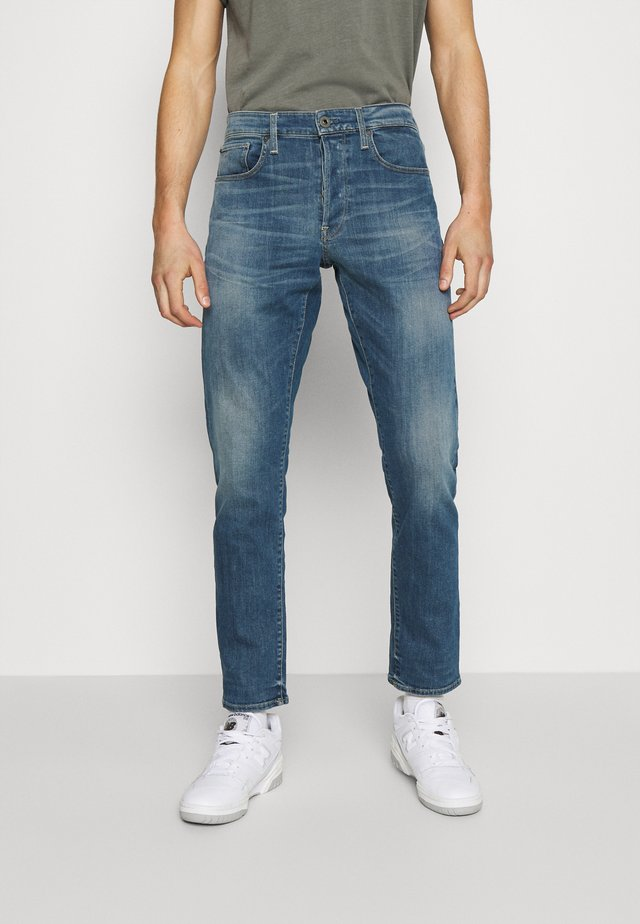 3301 STRAIGHT TAPERED - Jeans a sigaretta - faded spruce blue