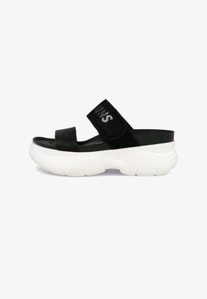 CAPSULE - Sandały na platformie - schwarz
