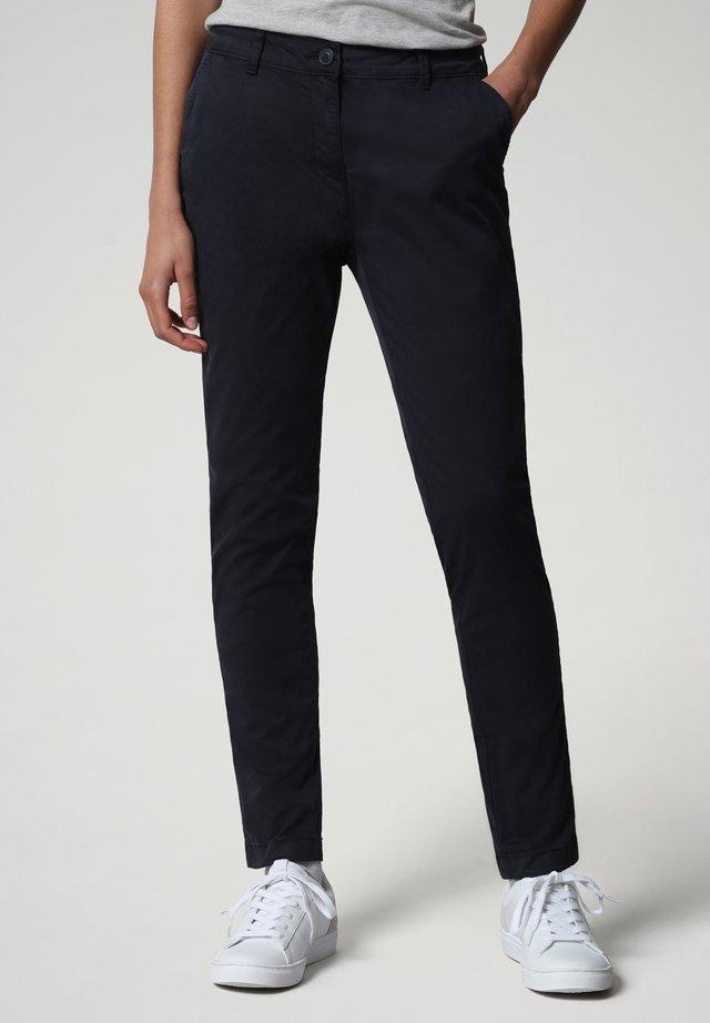 MERIDIAN - Pantalones chinos - blu marine