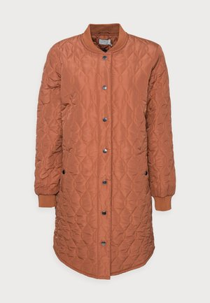 SHALLY QUILTED COAT - Winter coat - russet