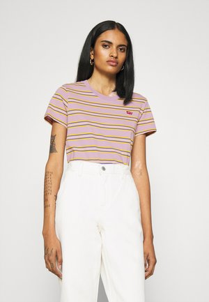 PERFECT TEE - T-shirt imprimé - borough lavender frost