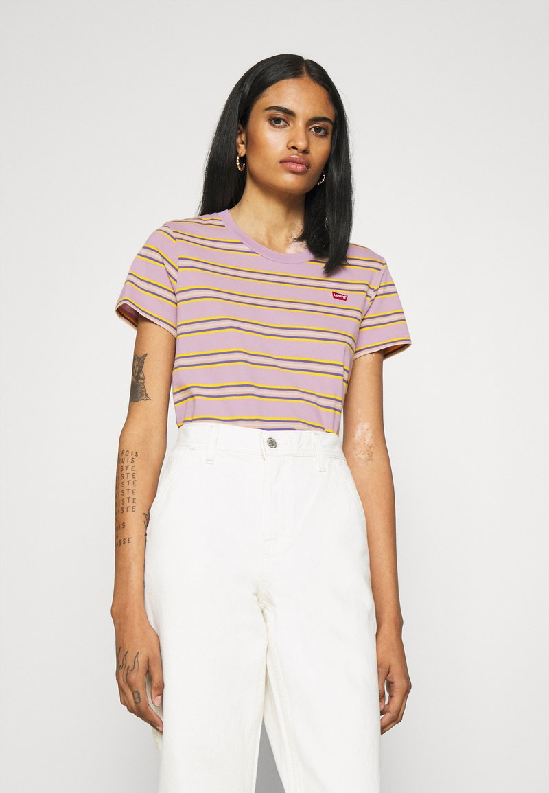 Levi's® - PERFECT TEE - T-shirt imprimé - borough lavender frost