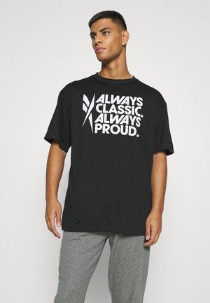 PRIDE TEE UNISEX - T-shirt print - black