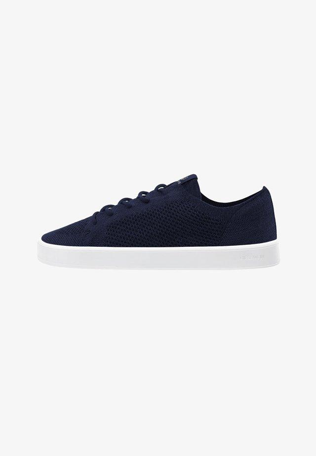 WOOL - Sneakers laag - ocean blue