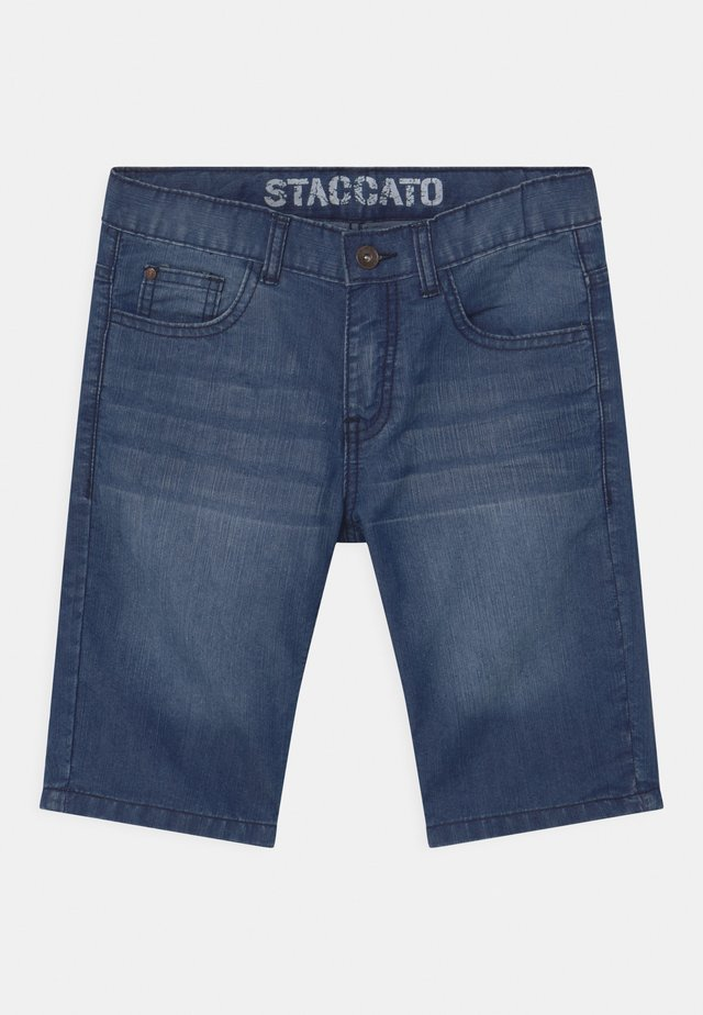BERMUDAS - Denim shorts - light blue denim