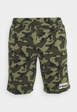 CORE CAMO - Sports shorts - forest night