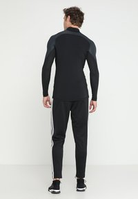 adidas Performance - ALPHASKIN ANTI-ODOR FABRIC CLIMAWARM - Långärmad tröja - black - 2
