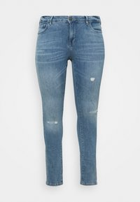 Zizzi - SANNA SHAPE - Jeans Skinny Fit - light blue denim - 3
