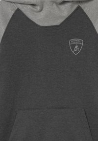 Automobili Lamborghini Kidswear - COLOR BLOCK HOODED - Sweatshirt - grey estoque - 2