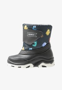 Friboo - Snowboots  - black/petrol - 1
