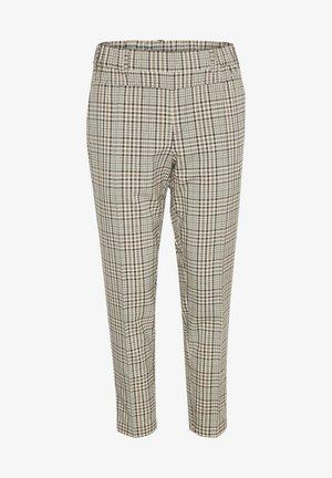 KAJESLA - Trousers - black/thrush check