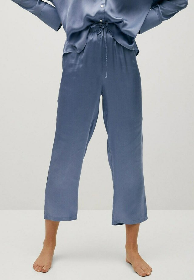 SATINI - Spodnie od piżamy - azul