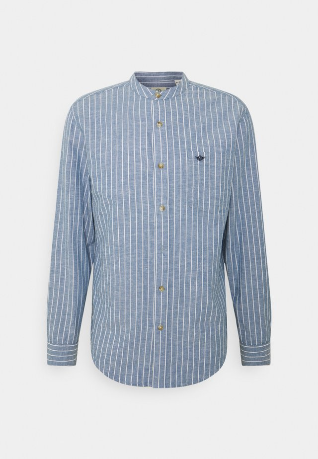 BAND COLLAR  - Overhemd - stoker sunset blue