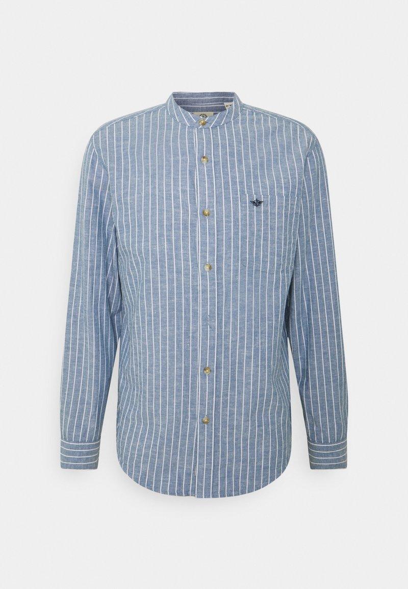 DOCKERS - BAND COLLAR  - Skjorta - stoker sunset blue