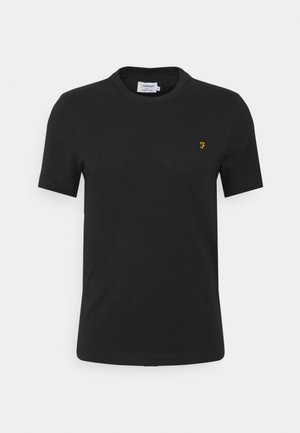 DANNY TEE - Jednoduché triko - black