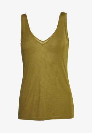 Top - military olive green