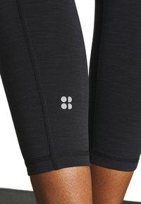 Sweaty Betty - SUPER SCULPT 7/8 YOGA LEGGINGS - Legging - black marl - 4
