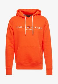 Tommy Hilfiger - LOGO HOODY - Sweat à capuche - orange - 4