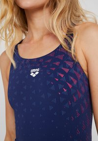 Arena - ONE TUNNEL VISION SWIM PRO ONE PIECE - Swimsuit - navy freak/rose - 4