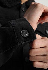 Brave Soul - WILBUR - Denim jacket - black denim - 5