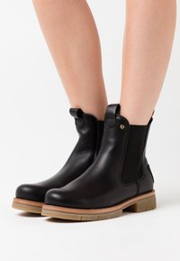 Panama Jack - FILIPA IGLOO NATURE - Platform ankle boots - black - 0