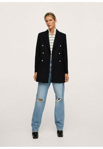 MANTEAU  - Short coat - noir