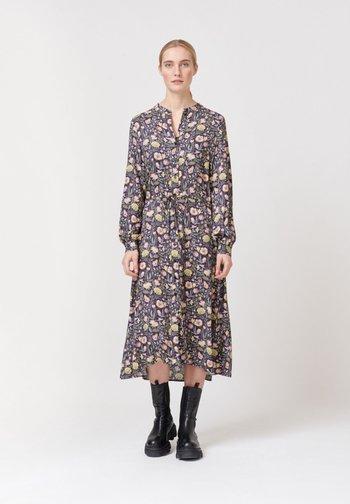 Shirt dress - autumn bouquet
