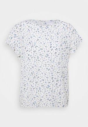 VIMESA - T-shirts med print - cloud dancer