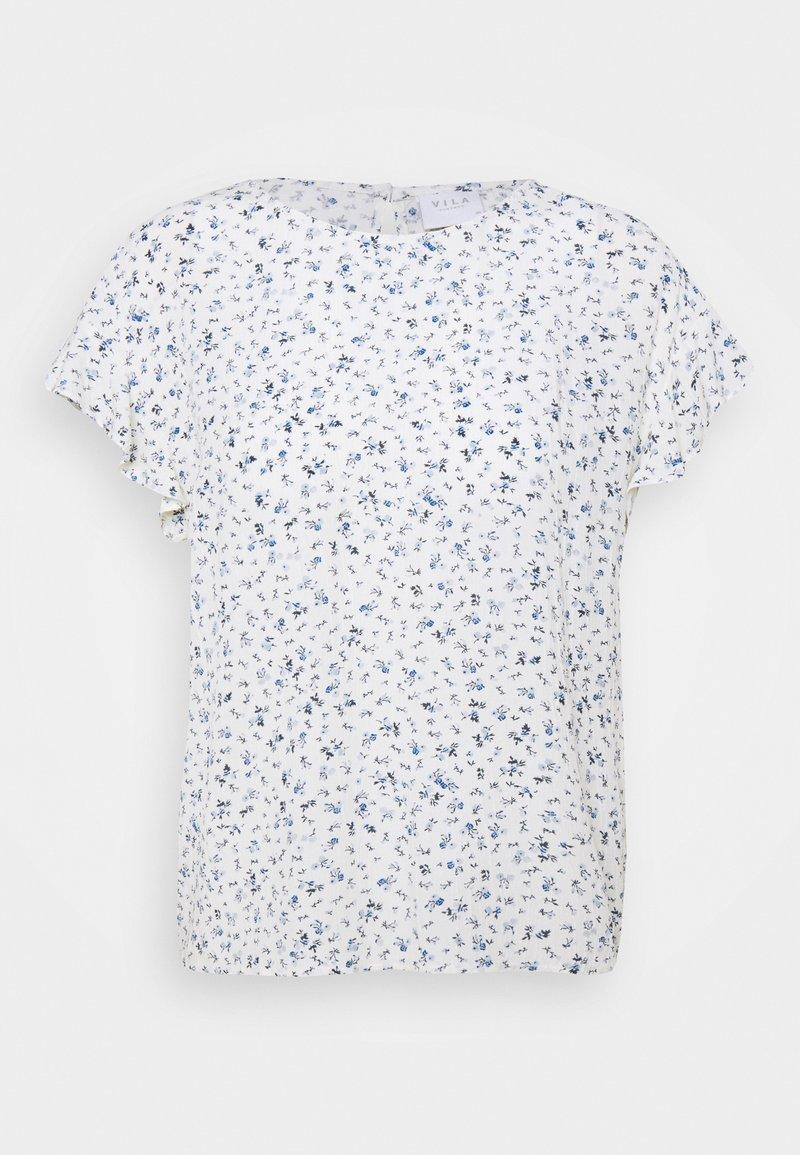 VILA PETITE - VIMESA - Print T-shirt - cloud dancer