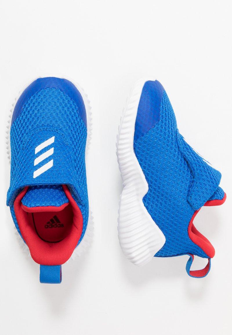 adidas Performance - FORTARUN - Neutrální běžecké boty - glow blue/footwear white/scarlet