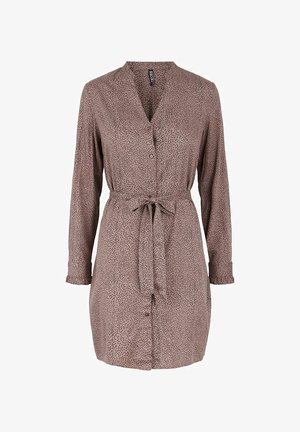 Shirt dress - taupe gray