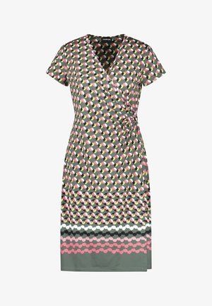 Day dress - evergreen gemustert