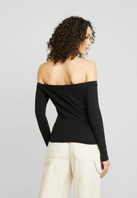 NA-KD - Pamela Reif x NA-KD - Long sleeved top - black - 2