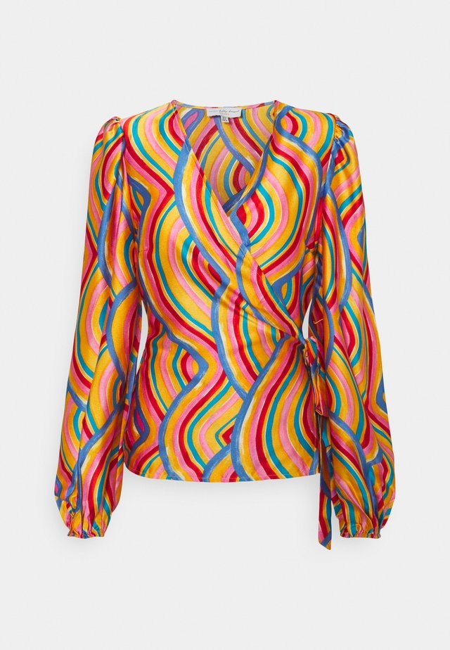 RAINBOW SWIRL WRAP - Blouse - multi