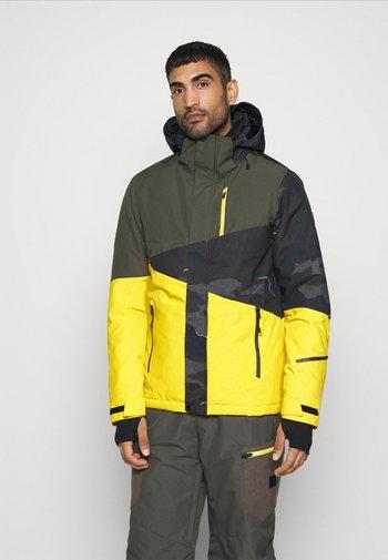 IDAHO MENS SNOWJACKET - Snowboardová bunda - cyber yellow