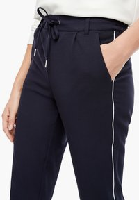 s.Oliver - Tracksuit bottoms - dark blue - 4